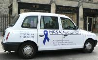 mrsa action uk taxi